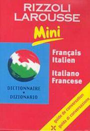 Dizionario Larousse mini français-italien, italiano-francese.