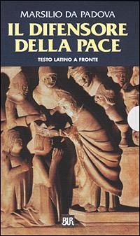 Il difensore della pace. Testo latino a fronte.