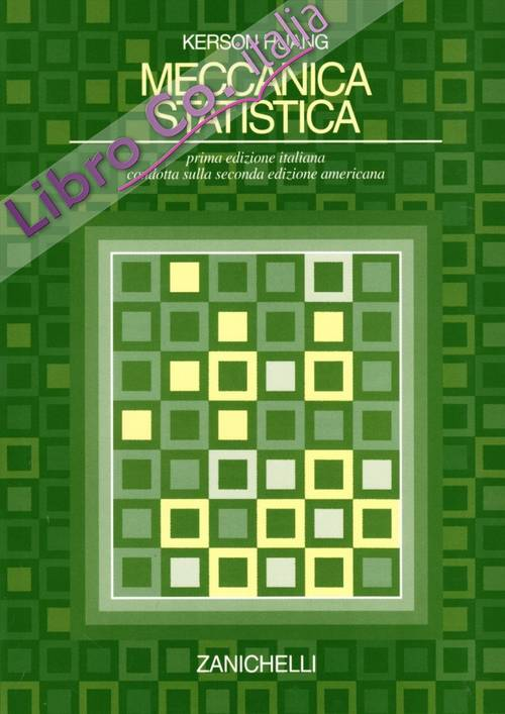Meccanica statistica.