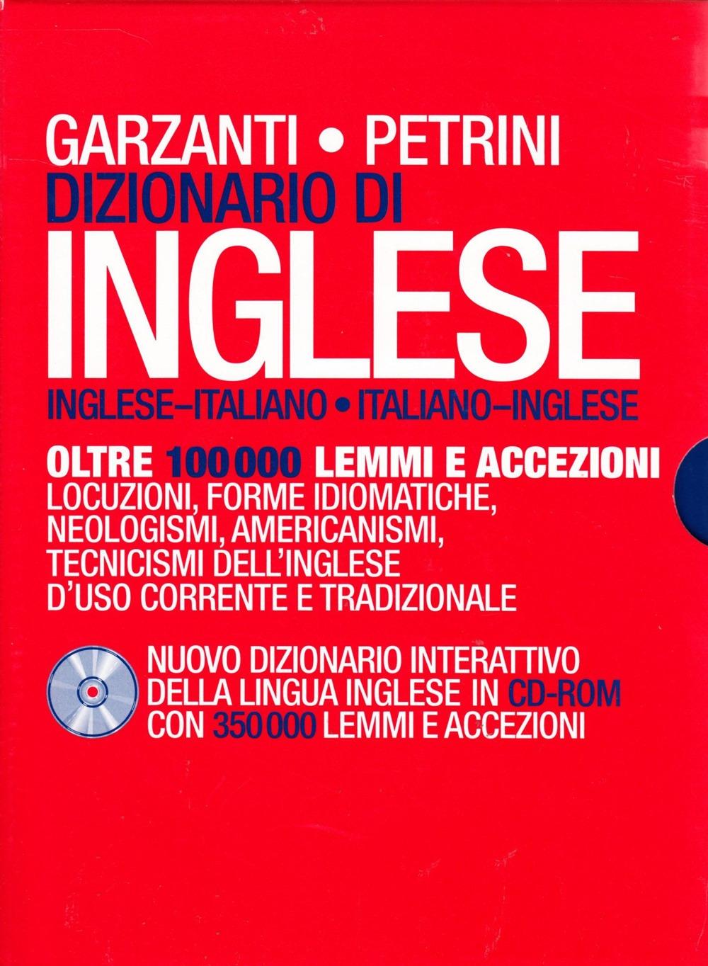 Dizionario di inglese Garzanti/Petrini. Con CD-ROM