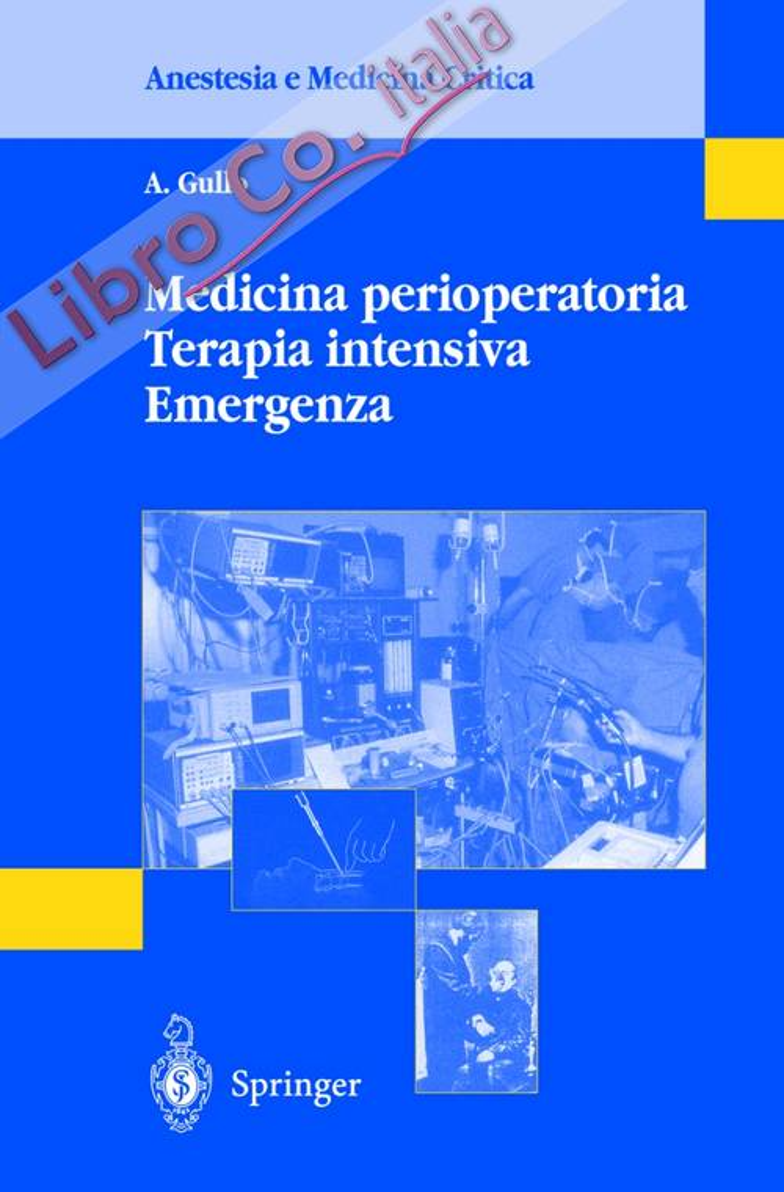Medicina perioperatoria. Terapia intensiva. Emergenza