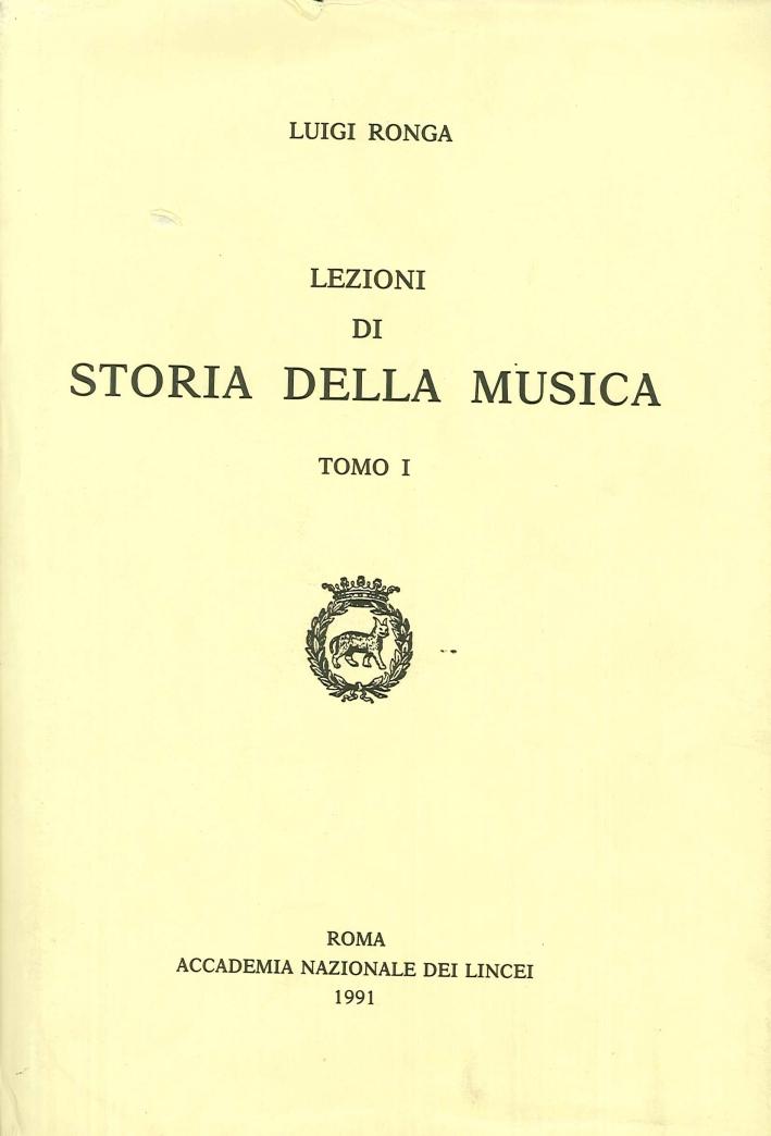 Lezioni di storia della musica.