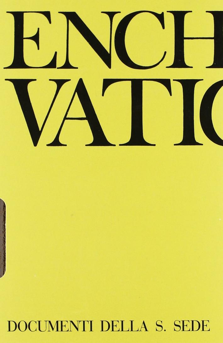 Enchiridion Vaticanum. Vol. 13: Documenti ufficiali della Santa Sede (1991-1993)