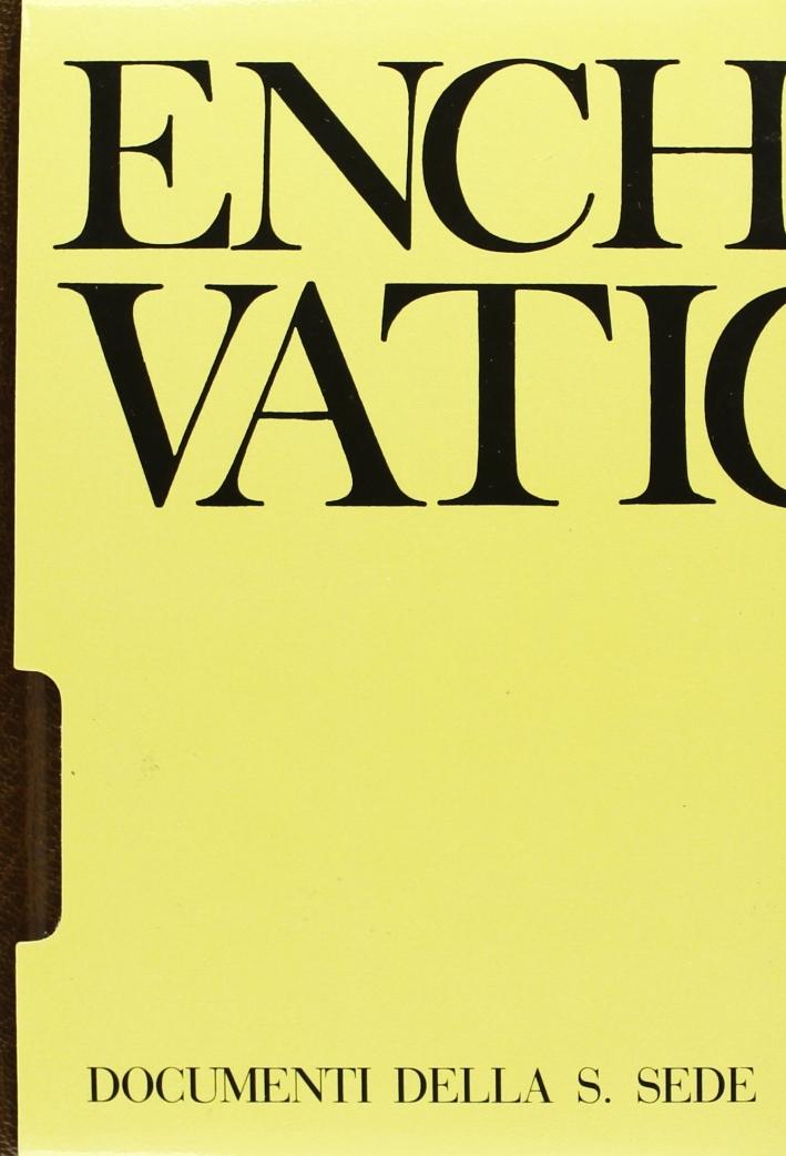 Enchiridion Vaticanum. [Edizione Bilingue]. Vol. 20: Documenti ufficiali della Santa Sede (2001)