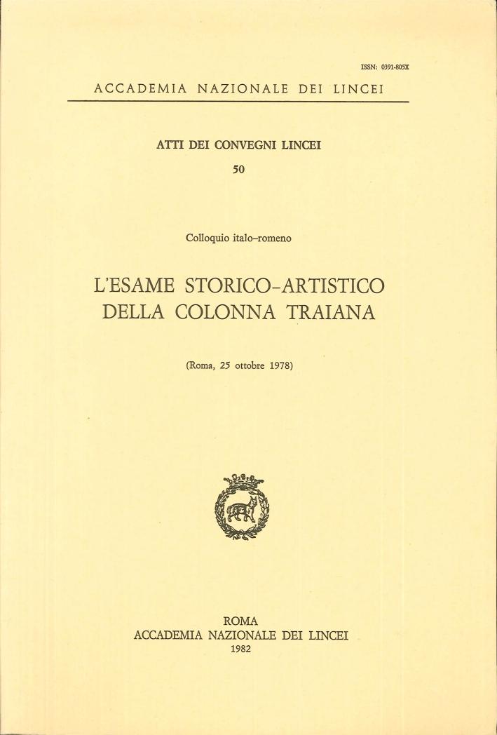 L'esame storico-artistico della Colonna Traiana