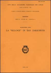 La silloge di Sah Zakkaryas