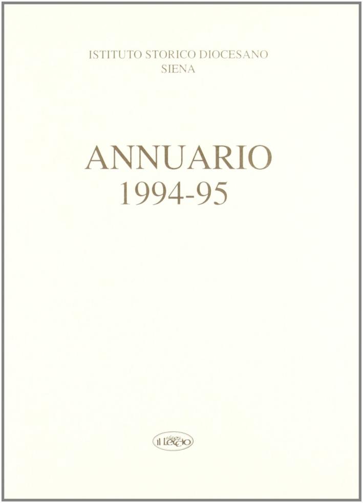 Annuario dell'Istituto storico diocesano di Siena (1994-95)