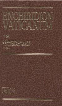 Enchiridion Vaticanum. Vol. 18: Documenti ufficiali della Santa Sede (1999)