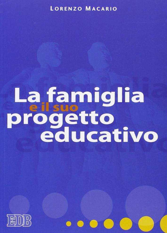 La famiglia e il suo progetto educativo