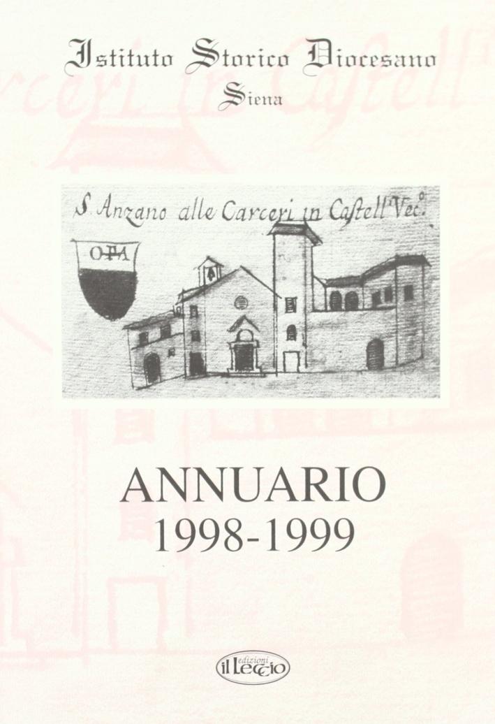 Annuario dell'Istituto storico diocesano di Siena (1998-99)