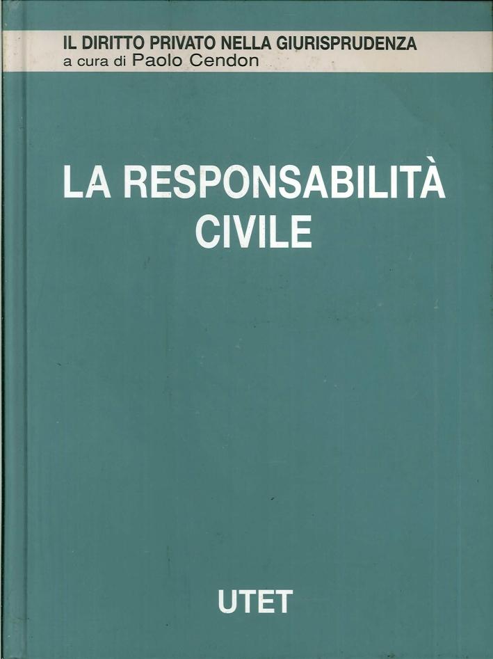 La responsabilità civile. Vol. 3: Responsabilità contrattuale