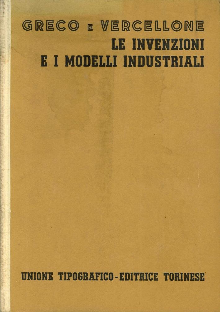 Le Invenzioni e i Modelli Industriali