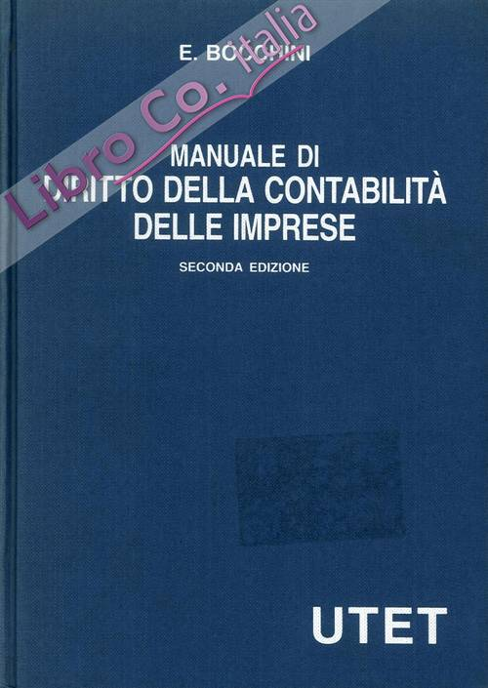 Manuale di diritto della contabilità delle imprese