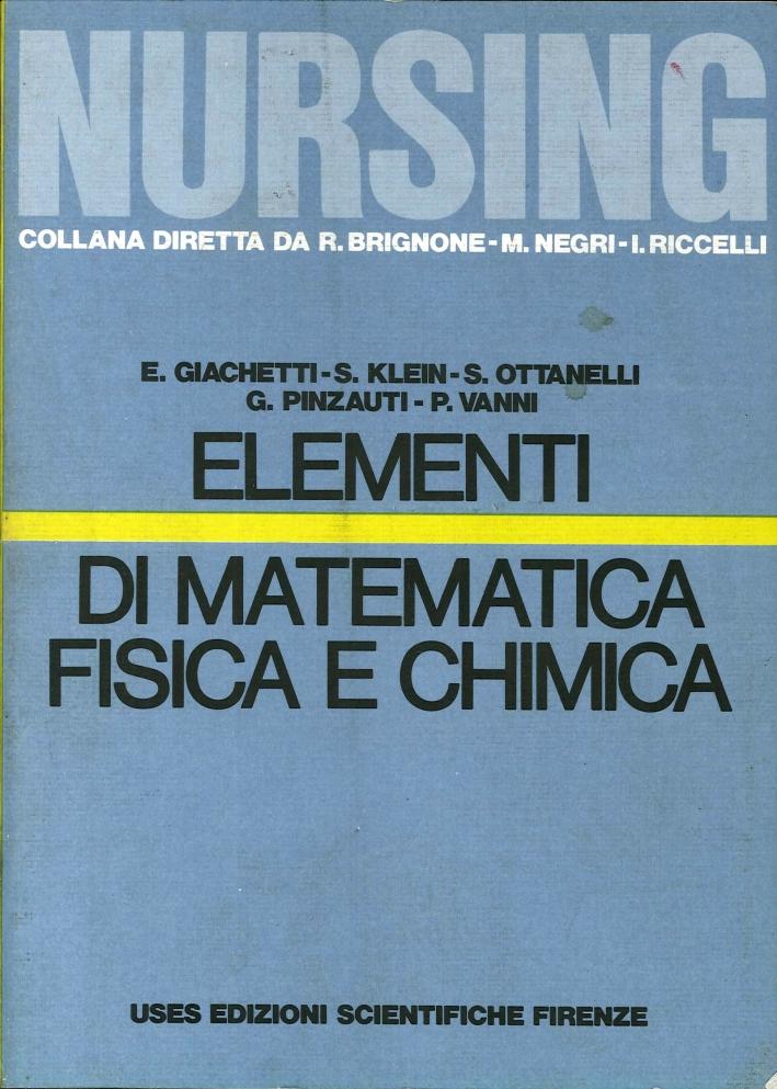 Elementi di Matematica, Fisica e Chimica