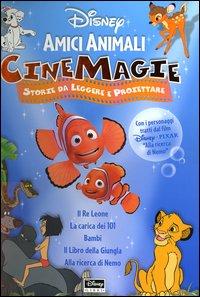 Amici Animali: il re Leone-La Carica dei 101-Bambi-Il Libro della Giungla-Alla Ricerca di Nemo. Con Gadget