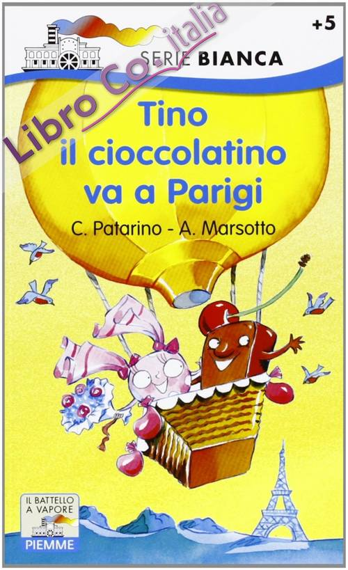 Tino il cioccolatino va a Parigi.