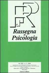 Rassegna di psicologia (2004). Vol. 3.