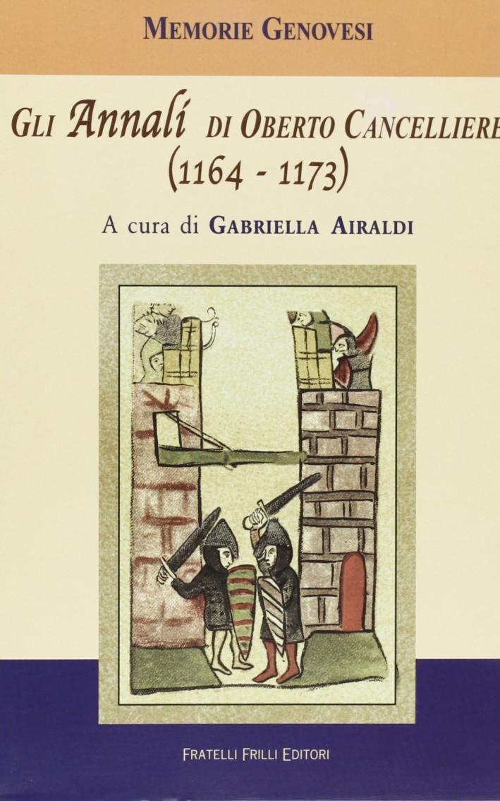 Gli annali di Oberto cancelliere (1164-1173).