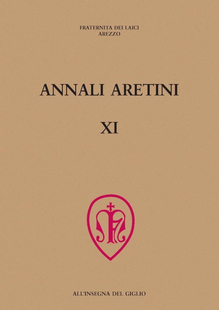 Annali aretini. Vol. 11