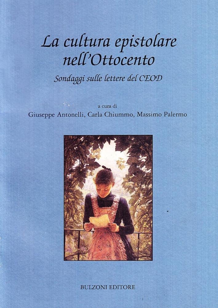 La cultura epistolare nell'Ottocento. Con CD-ROM