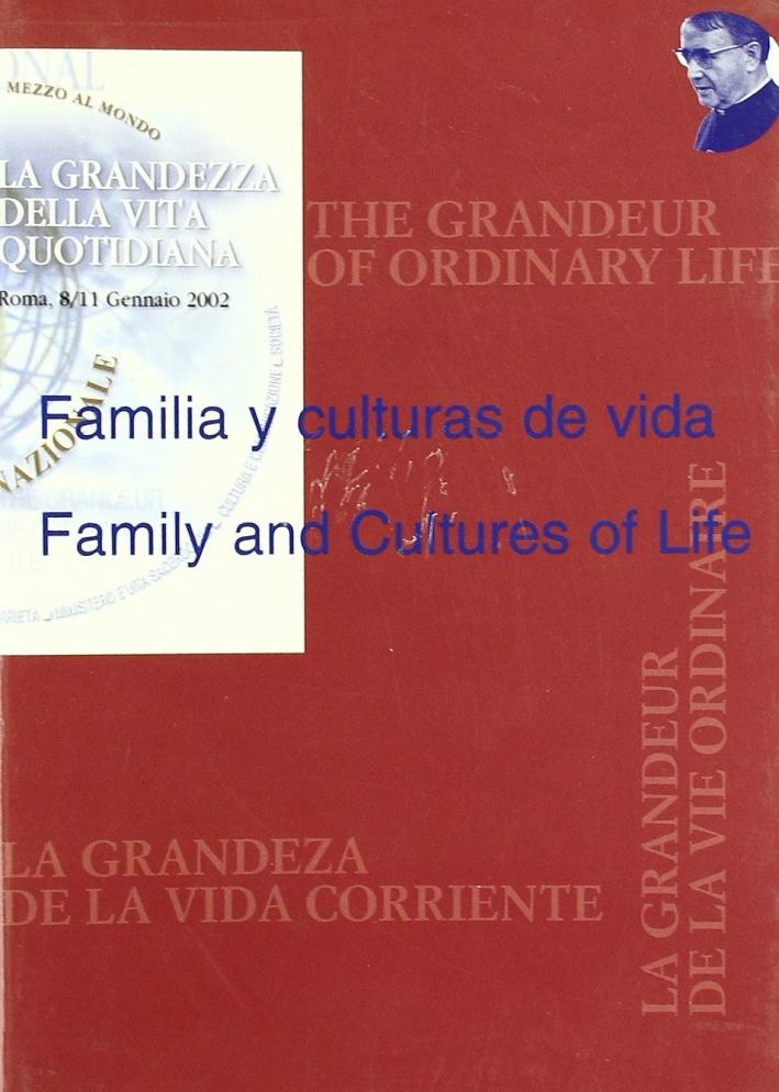 Familia y culturas de vida-Family and Cultures of Life
