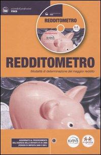 Redditometro. Modalità di determinazione del maggior reddito. Con CD-ROM