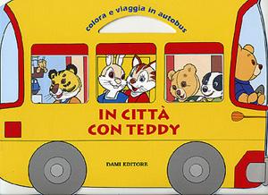 In città con Teddy. Colora e viaggia in autobus