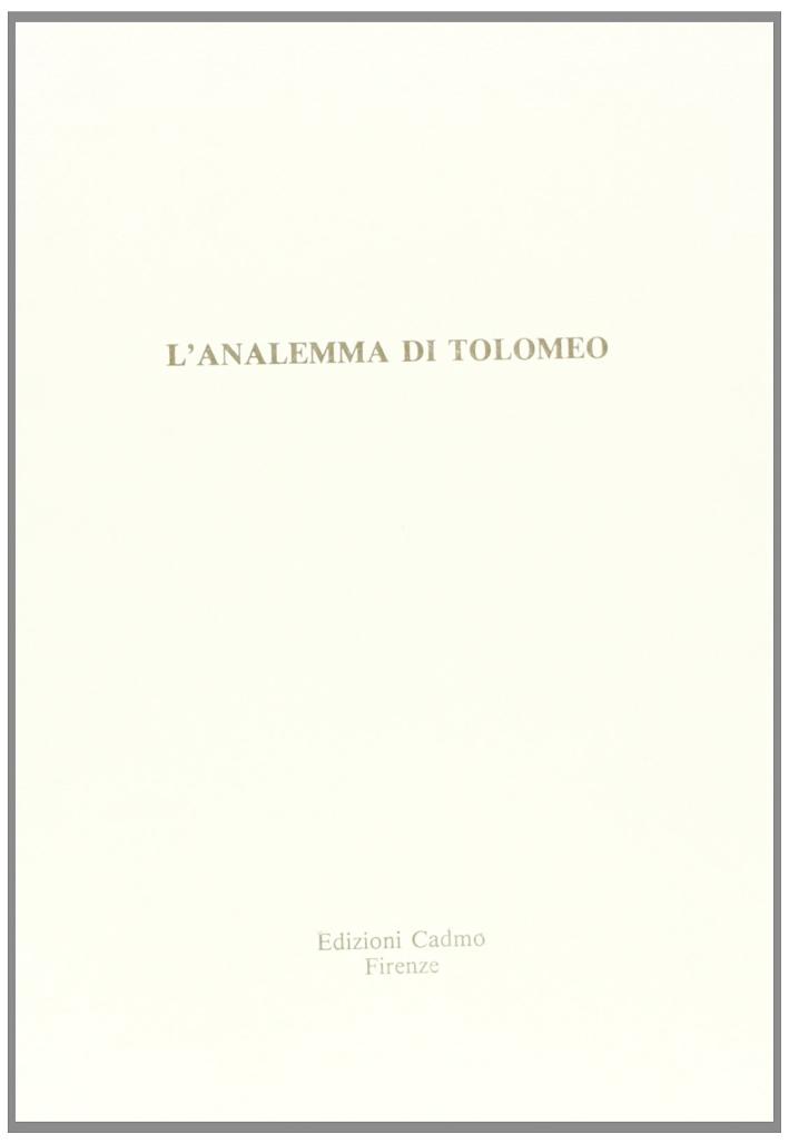 L'analemma di Tolomeo
