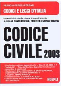 Codice civile 2003