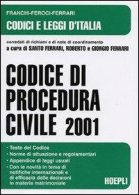 Codice di procedura civile 2001