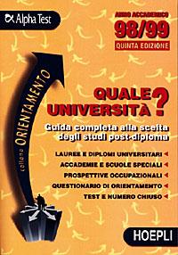 Quale università? '98-'99