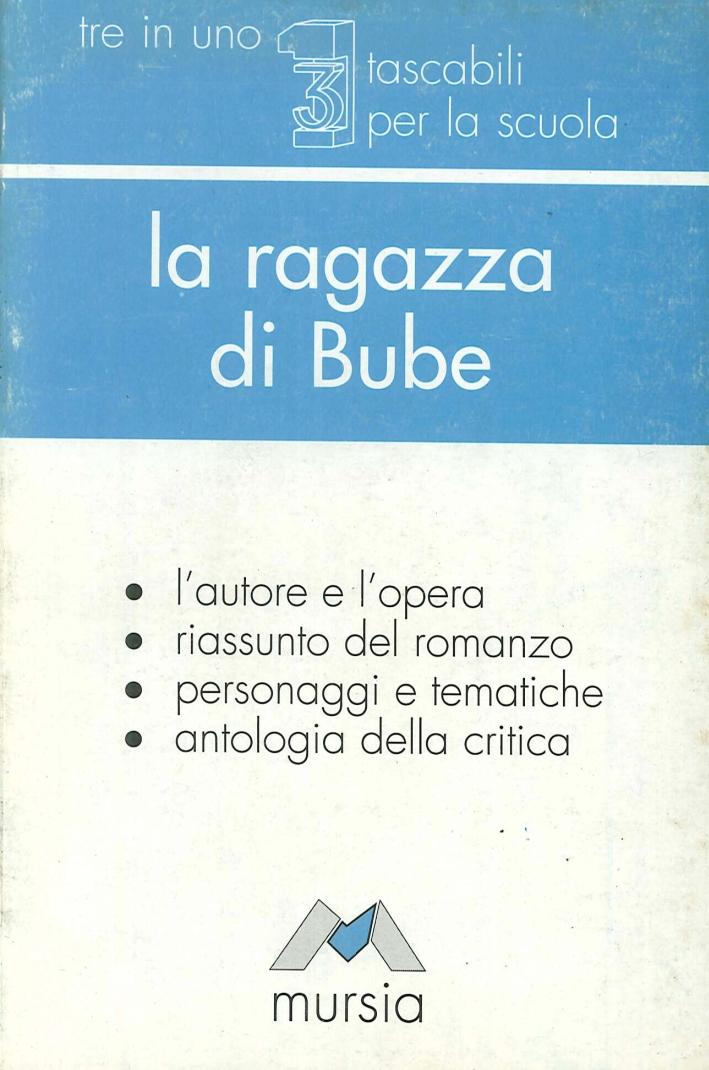 La ragazza di Bube. L'autore e l'opera. Riassunto del romanzo, personaggi e tematiche, antologia della critica