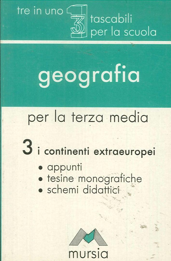 Geografia per l'esame di licenza media