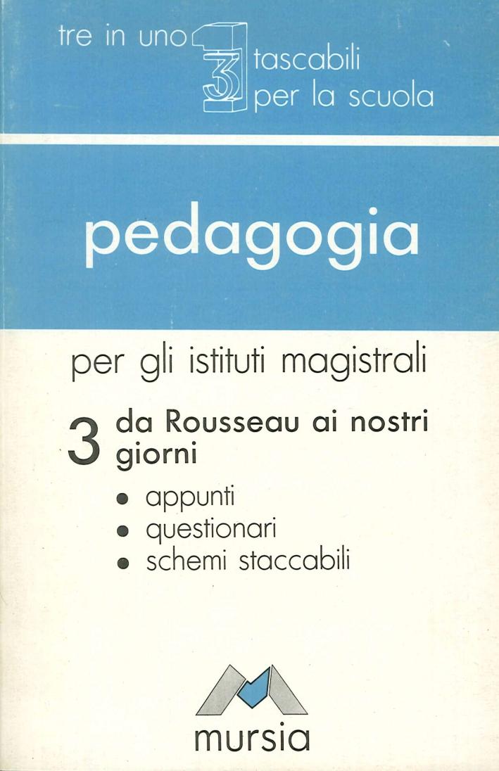 Pedagogia. Vol. 3
