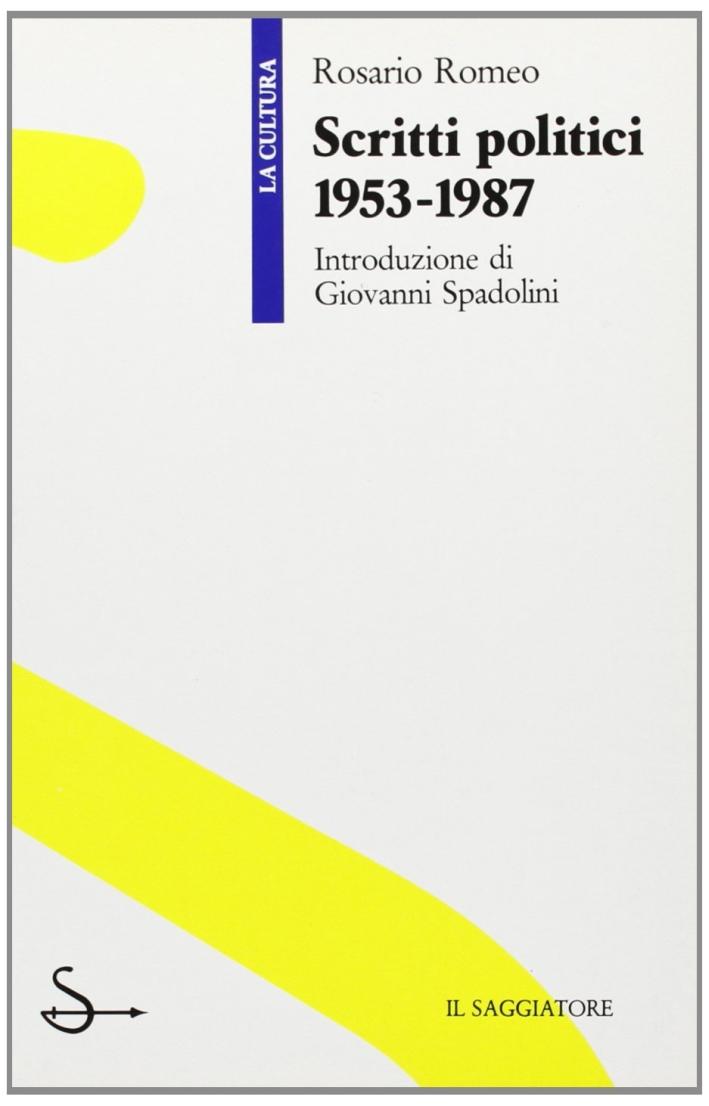 Scritti politici 1953-1987