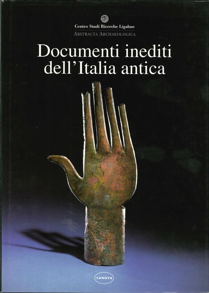Documenti Inediti dell'Italia Antica