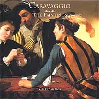 Caravaggio Paintings. Calendario 2004