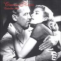 Cinema kisses. Calendario 2004