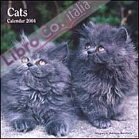 The Cats. Calendario 2004 piccolo