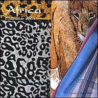 Africa. Calendario 2004 piccolo