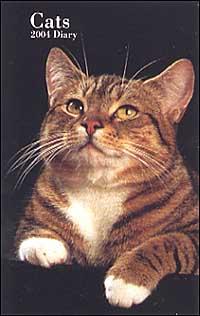 Cats. Agenda settimanale 2004 piccola.