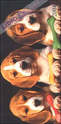Dogs. Agenda settimanale 2004 orizzontale