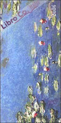 Monet. Agenda settimanale 2004 orizzontale