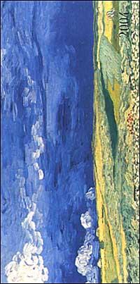 Van Gogh. Agenda settimanale 2004 orizzontale.