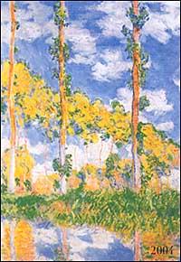 Monet. Agenda settimanale 2004