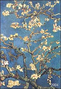 Van Gogh. Agenda settimanale 2004.