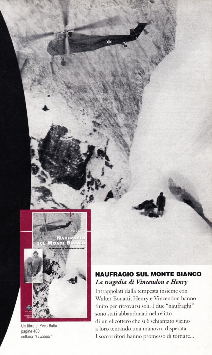 I naufraghi del Monte Bianco. Con videocassetta.