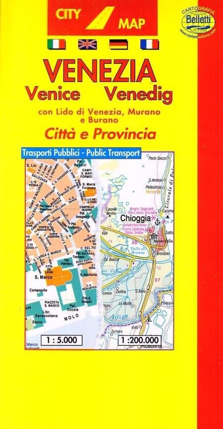 Venezia 1:5.000. Con guida turistica