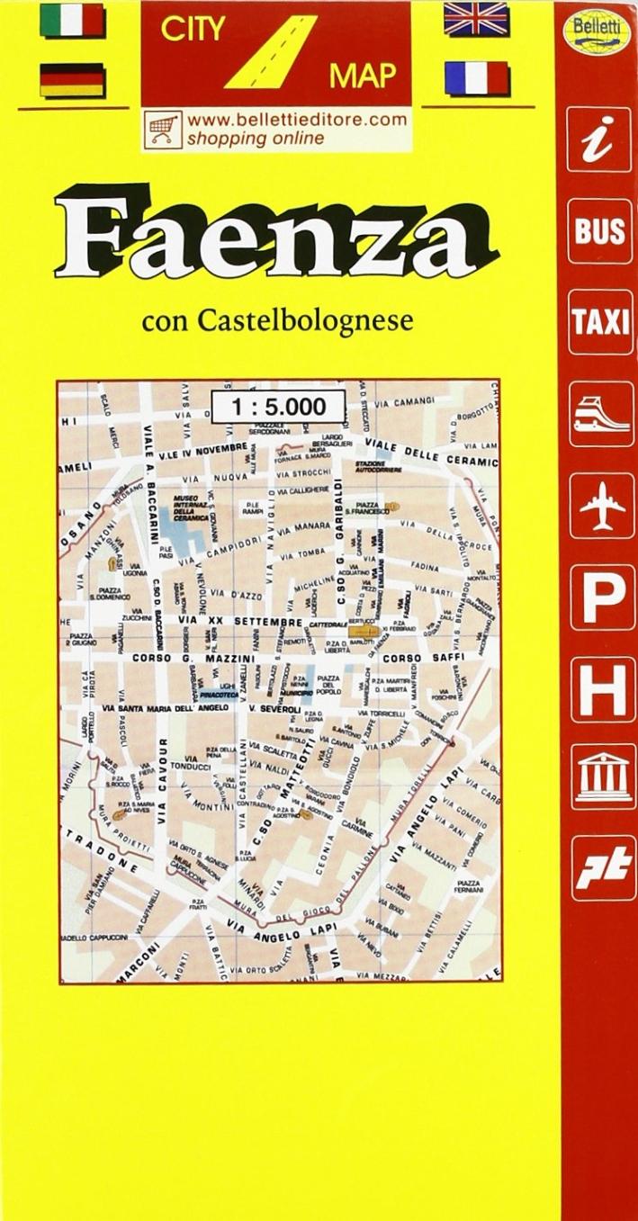 Faenza. Castelbolognese 1:5.000
