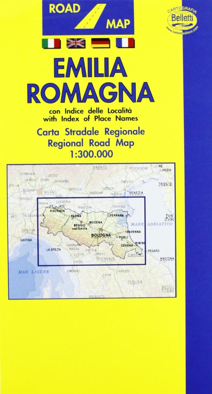 Emilia Romagna 1:300.000
